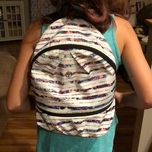 Ivivva Bringing It Backpack Multi Color Stripe